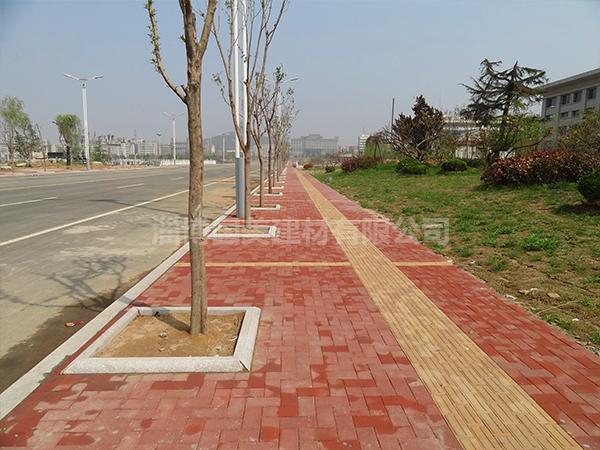 公园砖铺装