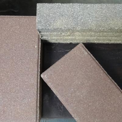 陶瓷透水砖的着色方式
